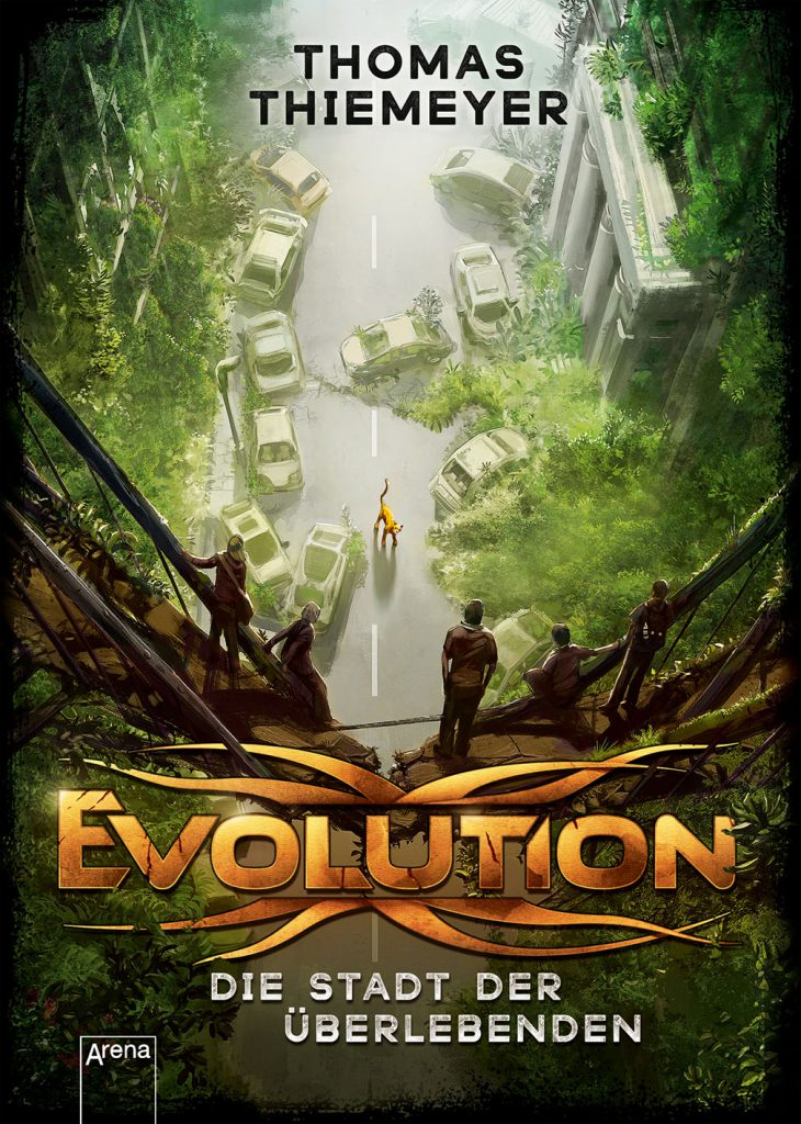 Evolution 1 die stadt der berlebenden thomas thiemeyer for Chroniken der weltensucher
